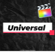 Universal And Clean Titles For FCPX