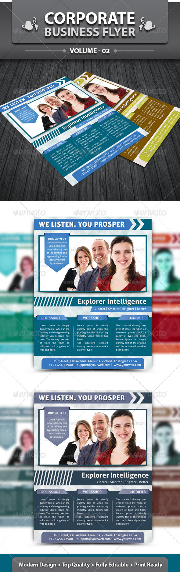 Corporate Business Flyer | Volume 2 - Corporate Flyers