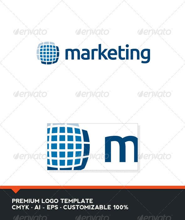 Marketing Logo Template - Abstract Logo Templates