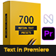 Text Presets - VideoHive Item for Sale