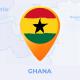 Ghana Map - Republic of Ghana Travel Map