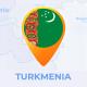 Turkmenistan Map -Turkmenia Travel Map