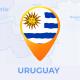 Uruguay Map - Oriental Republic of Uruguay Travel Map
