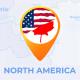 North America Map - North America Travel Map