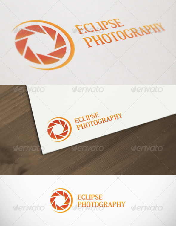Eclipse Photography Premium Logo Template - Objects Logo Templates