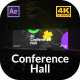 4k Conference Hall - VideoHive Item for Sale