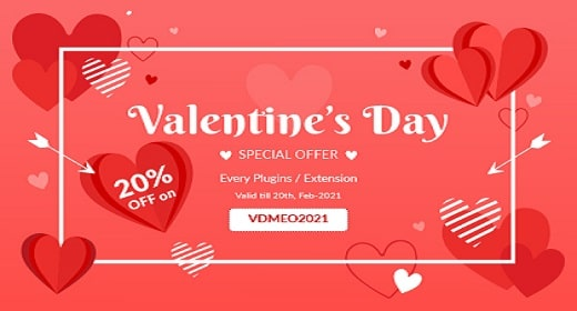 Valentine Offer For Woocommerce Plugins & Magento 2 Extensions