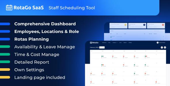 Download RotaGo SaaS – Staff Scheduling Tool Free Nulled