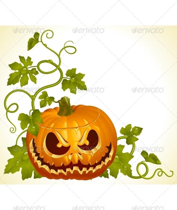 Pumpkin Jack vintage pattern - Halloween Seasons/Holidays