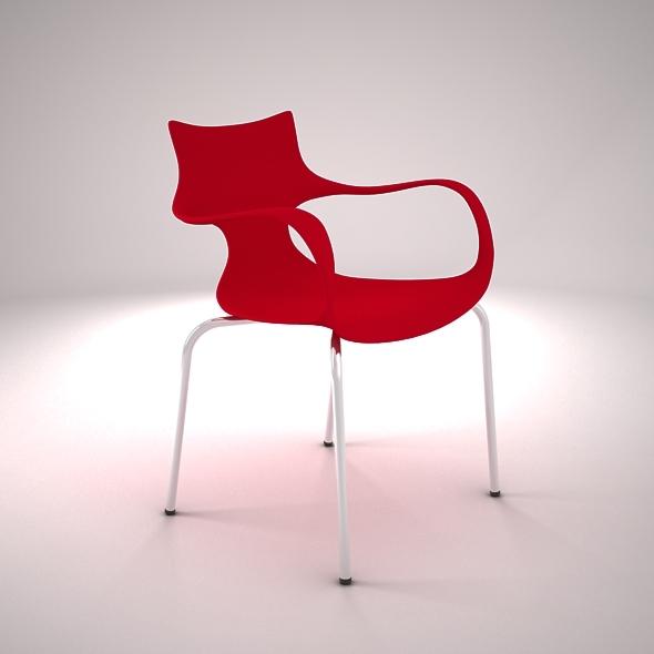 Jim Chair - 3DOcean Item for Sale