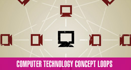 Computer Technology Concept Loop Packs