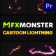 Cartoon Lightning Elements | Premiere Pro MOGRT - VideoHive Item for Sale