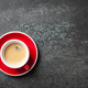 Cup of coffee on black background - PhotoDune Item for Sale