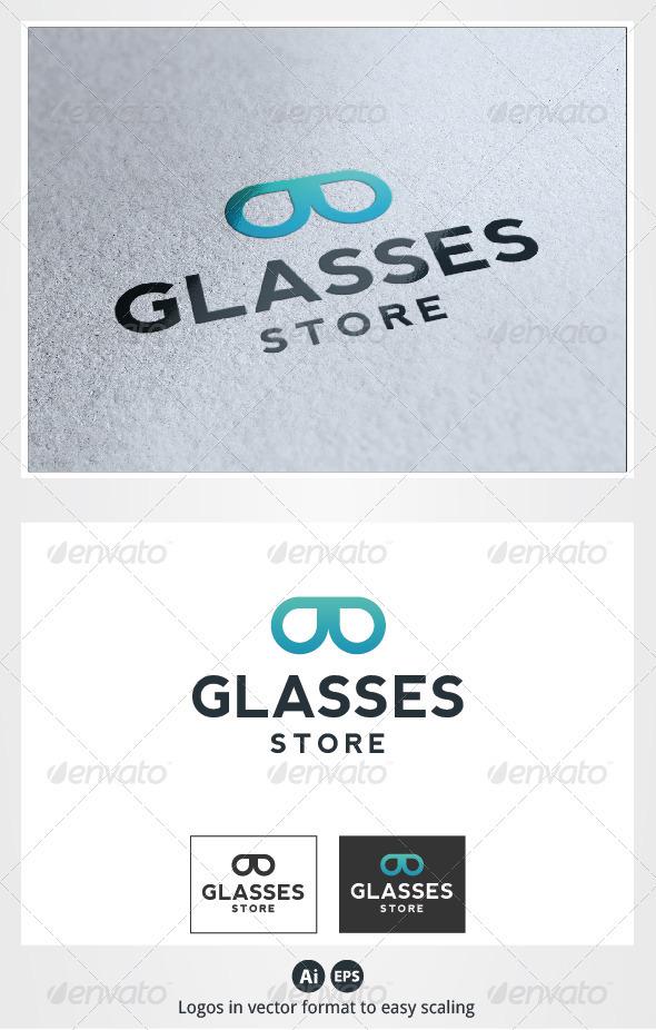 Glasses Shop Logo - Symbols Logo Templates