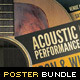 Acoustic Event Flyer/Poster Template Bundle - GraphicRiver Item for Sale