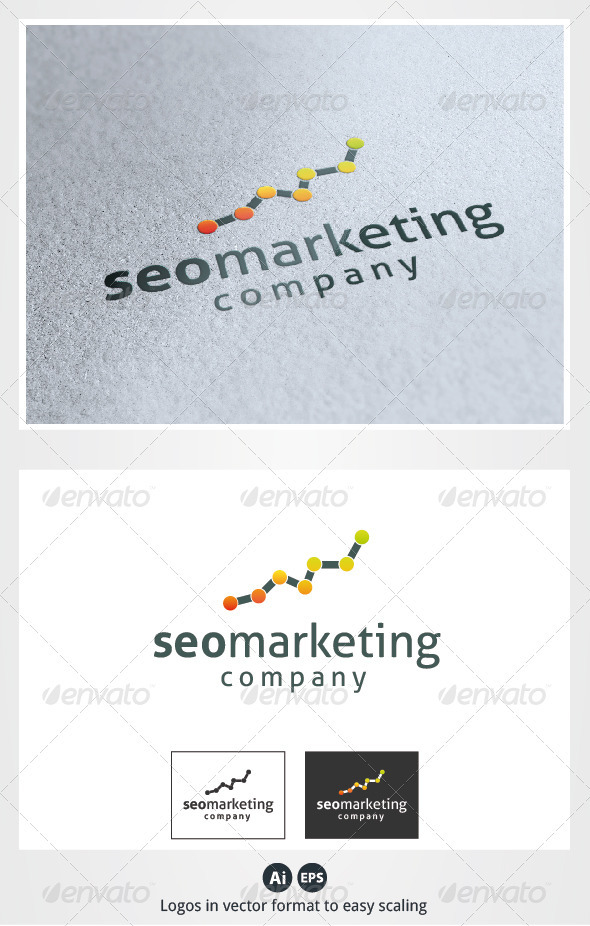Seo Marketing Logo - Symbols Logo Templates