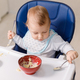 The grimy infant or toddler tries to eat independently - PhotoDune Item for Sale