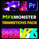 Stylish Colorful Transitions | Premiere Pro MOGRT - VideoHive Item for Sale