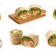 chicken wrap sandwich - PhotoDune Item for Sale