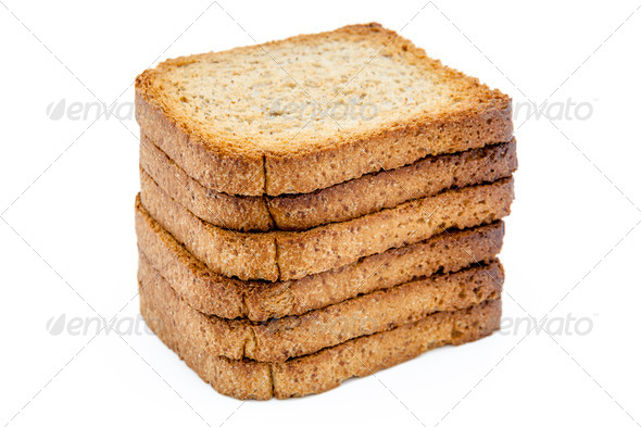 Slices of toast - Stock Photo - Images