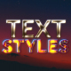 Text Styles || After Effects - VideoHive Item for Sale