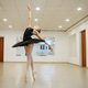Elegant ballerina, dance performing in class - PhotoDune Item for Sale