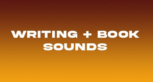 Paper + Writing + Scissor Sounds