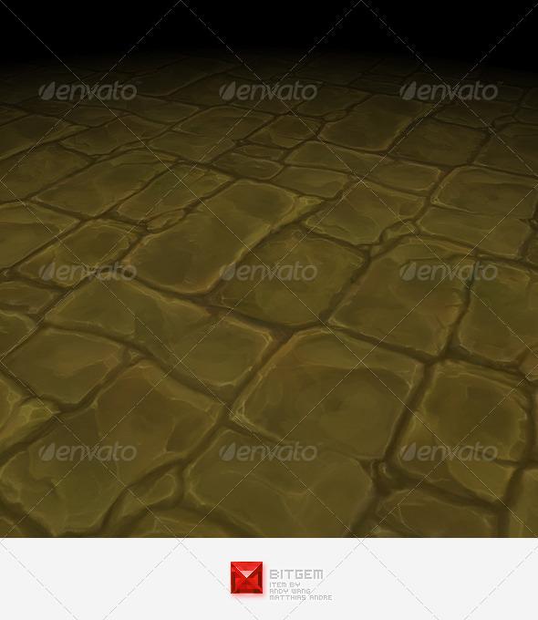 Stone Floor Tile 06 - 3DOcean Item for Sale
