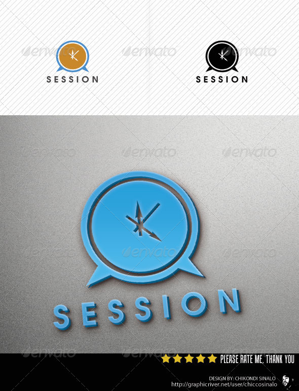 Session Logo Template - Abstract Logo Templates