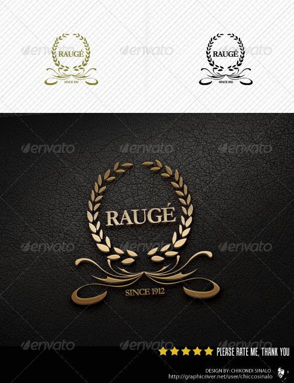 Rauge Logo Template - Abstract Logo Templates