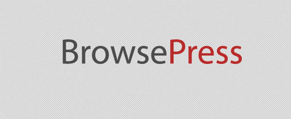 Browsepress banner