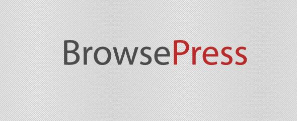 Browsepress banner
