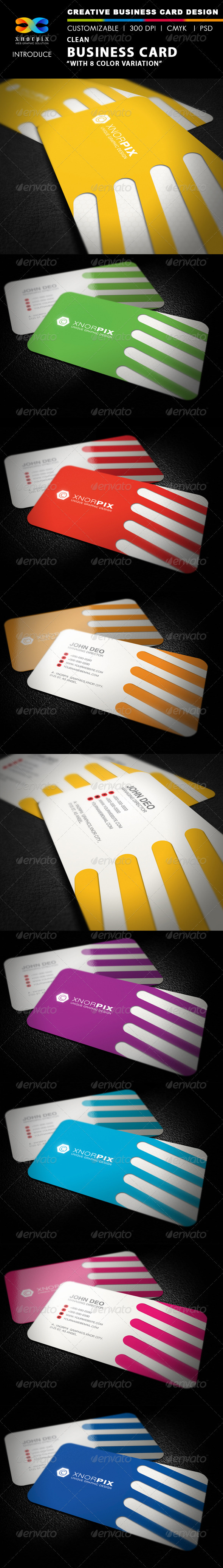 Clean Business Card - Creative Business Cards