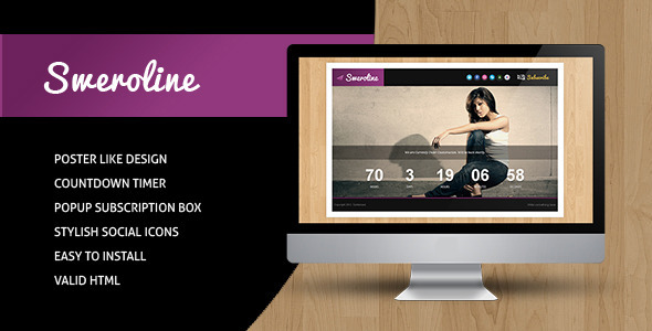 Sweroline – Creative Under Construction Template