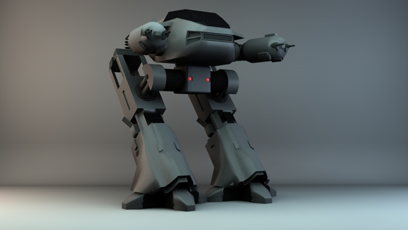 Robocop: ED-209 - 3DOcean Item for Sale