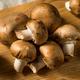 Raw Brown Organic Baby Bella Mushrooms - PhotoDune Item for Sale
