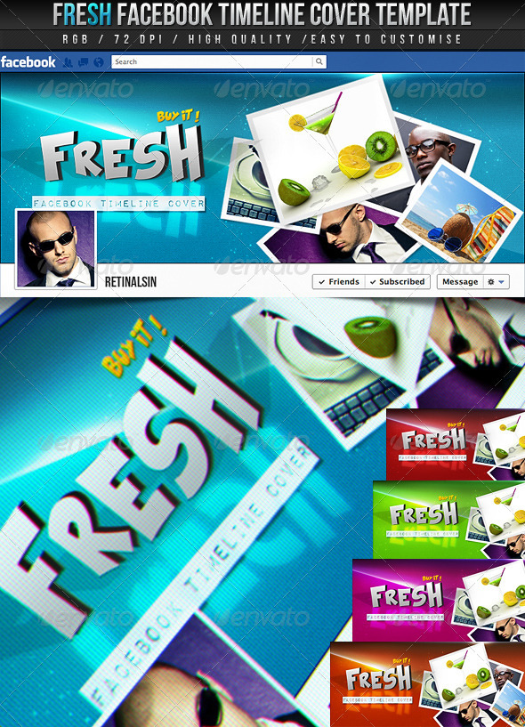 Fresh Facebook Timeline Cover - Facebook Timeline Covers Social Media