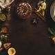 Citrus and pistachio bundt cake in cooking, horizontal composition - PhotoDune Item for Sale