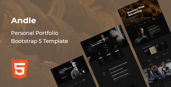 Good Andle - Personal Portfolio Bootstrap 5 Template