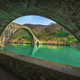 Bridge of the Devil or Ponte della Maddalena in Garfagnana. Tuscany, Italy. - PhotoDune Item for Sale