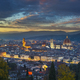 Florence or Firenze sunset aerial cityscape.Tuscany, Italy - PhotoDune Item for Sale