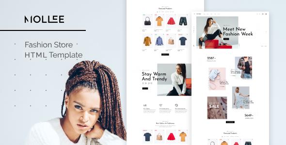 Super Mollee - Fashion Store HTML Template