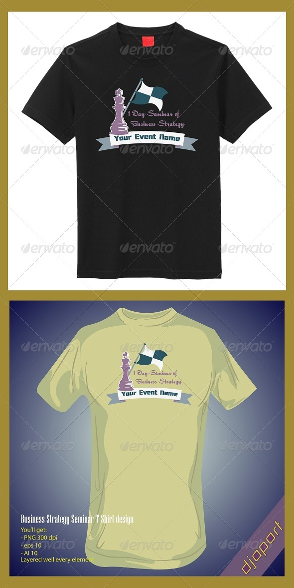 Business seminar t shirt design - Business T-Shirts