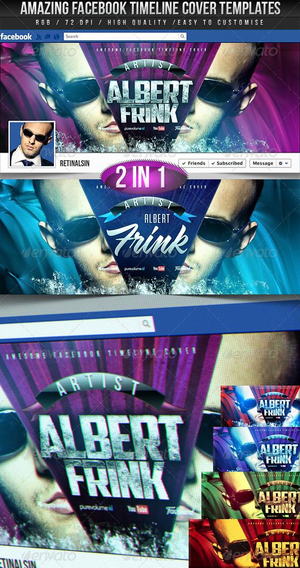 Facebook Timeline Covers - 2in1 - Facebook Timeline Covers Social Media