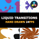 2D FX Liquid Transitions | Da Vinci - VideoHive Item for Sale