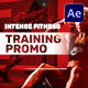 Intense Fitness Training Promo - VideoHive Item for Sale