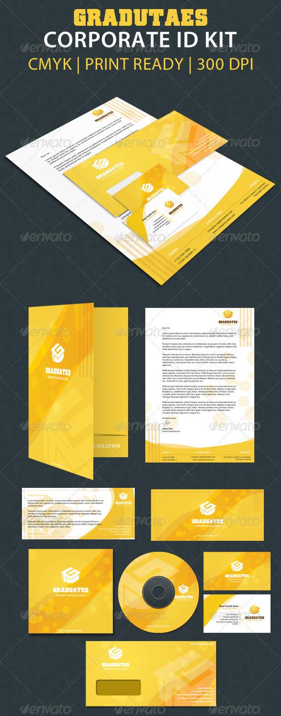 Graduate Corporate Id Kit - Stationery Print Templates
