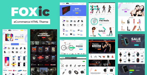 Foxic – eCommerce HTML Template
