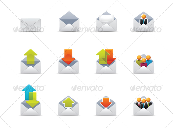 Qicon series | Web and Mail icons - Web Icons