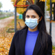 Young woman with surgical mask - PhotoDune Item for Sale